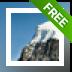 Free Snowy Mountain Screensaver