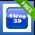 Shock 4Way 3D
