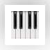 ButtonBeats Virtual Piano Black