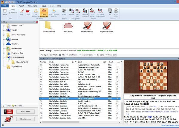 ChessBase (free version) download for PC